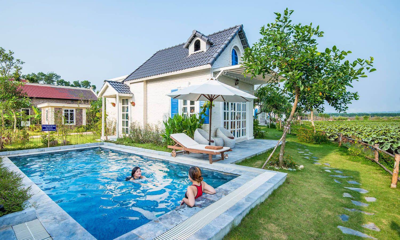vườn vua resort 1