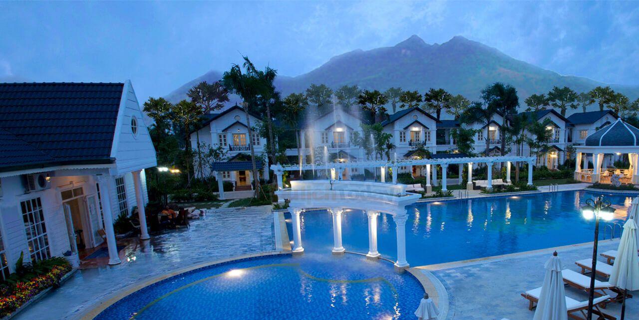 Vườn vua resort spa