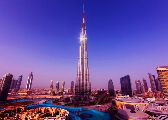 Tháp Burj Khalifa - Dubai