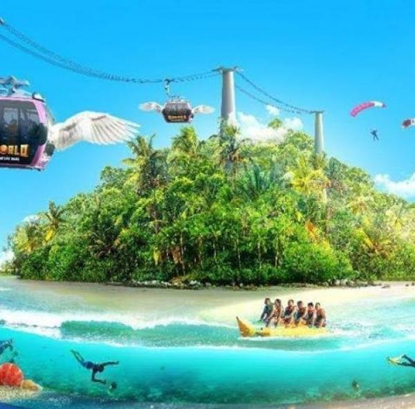 Cáp treo Hòn Thơm Phú Quốc là cáp treo 3 dây dài nhất thế giới